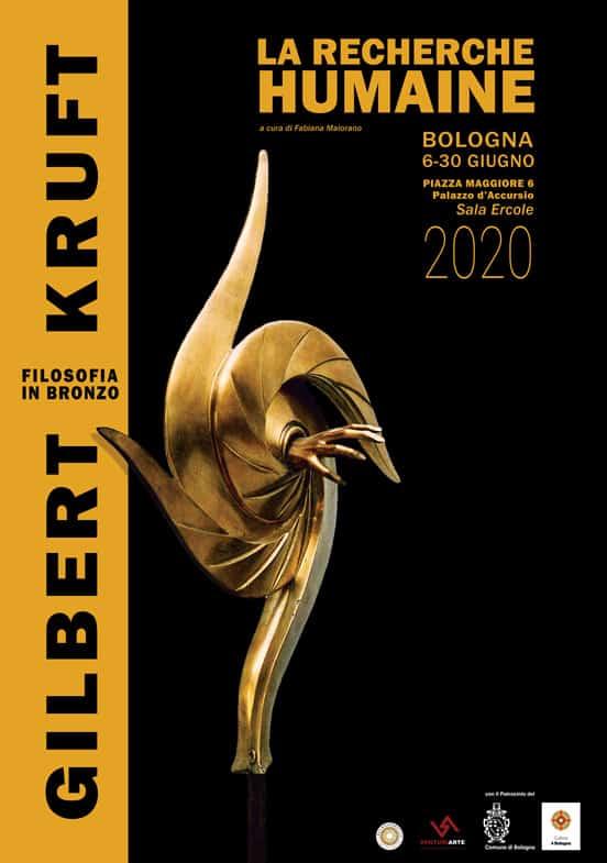 Manifesto mostra Gilbert Kruft di Maria Pia Alloggio